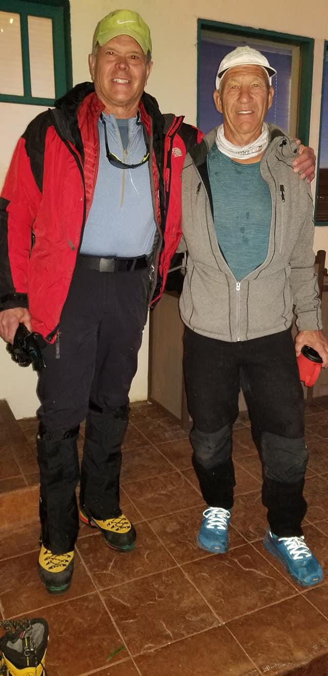 Bob Marsh ready for winter ascent of Whitney