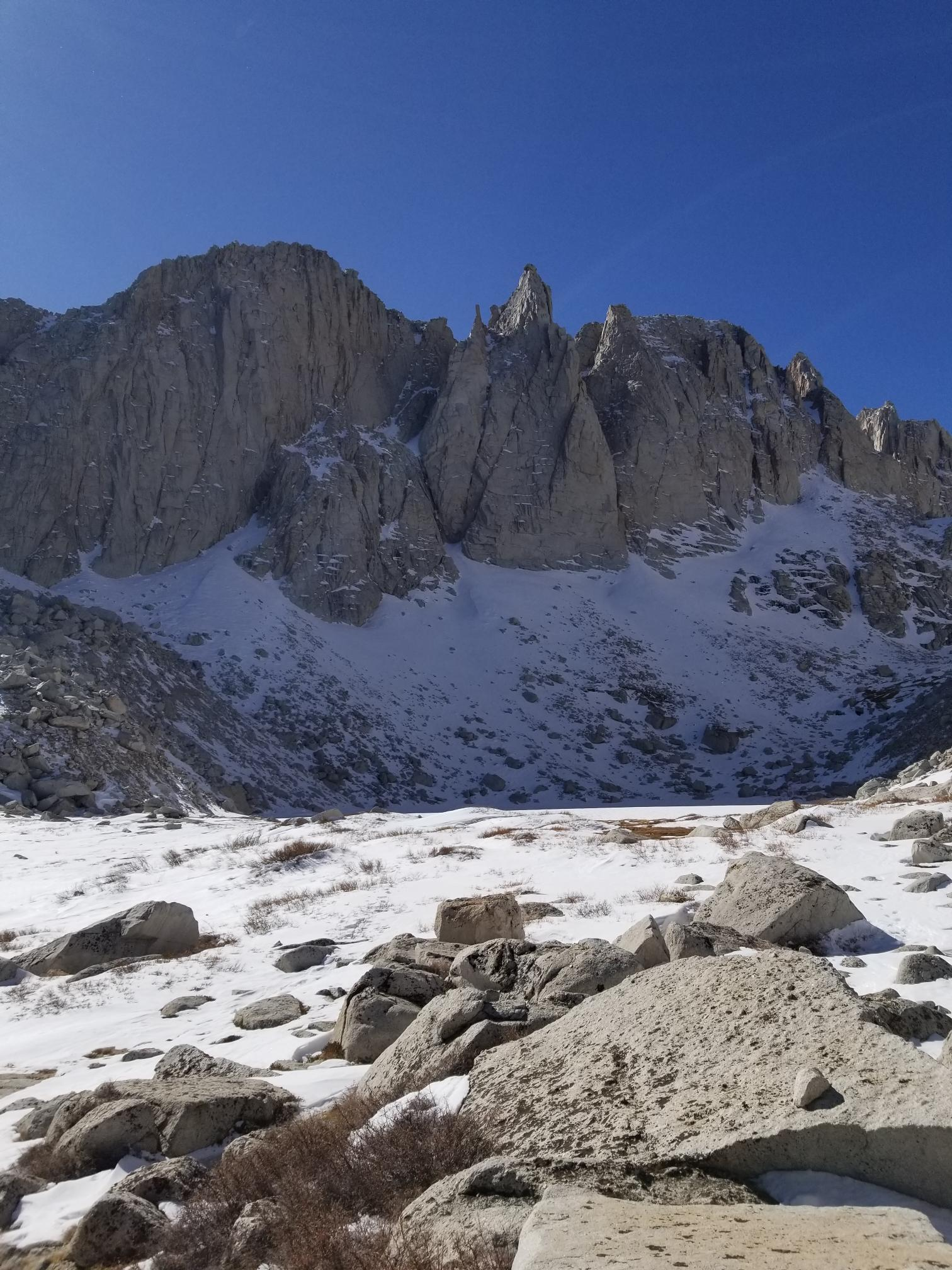 Pinnacles from Upper BS