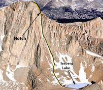 Whitney Mountaineer's Route