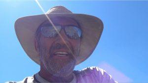 Possible last photo ever: DV circumnav 2012 above Saline Valley