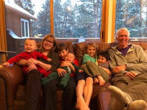 Mark Macy (Mace) Pam and Grandkids